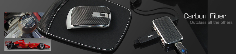 Carbon Fiber USB Gift Set