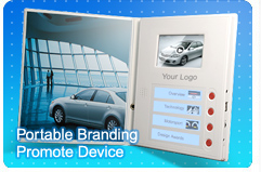 Portable Branding Promote Device