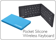Pocket Silicone Wireless Keyboard