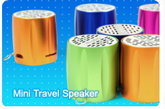 Mini Travel Speaker with MP3 Player and FM Radio Function